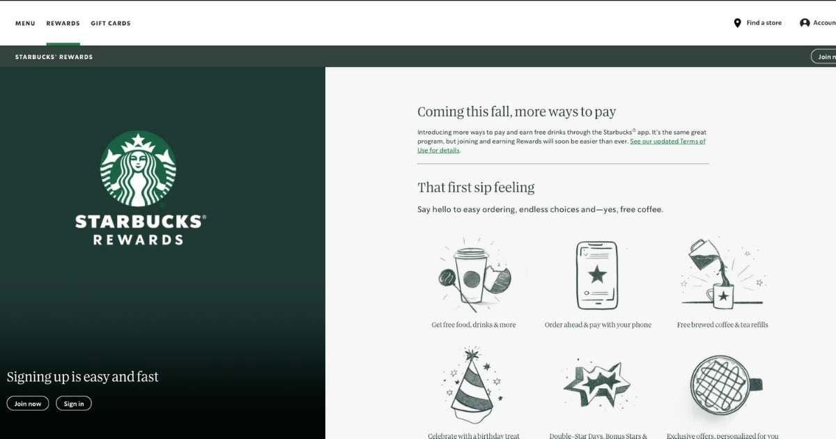 Starbucks Loyalty Program