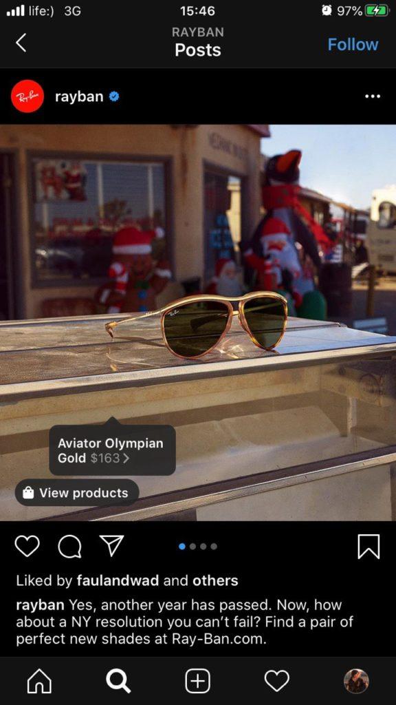 rayban-eCommerce-trends
