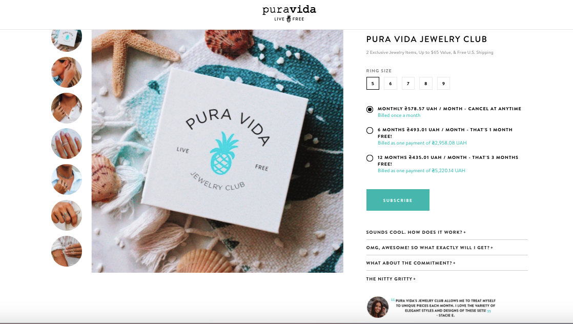 pura-vida-campaign-to-grow-email-list
